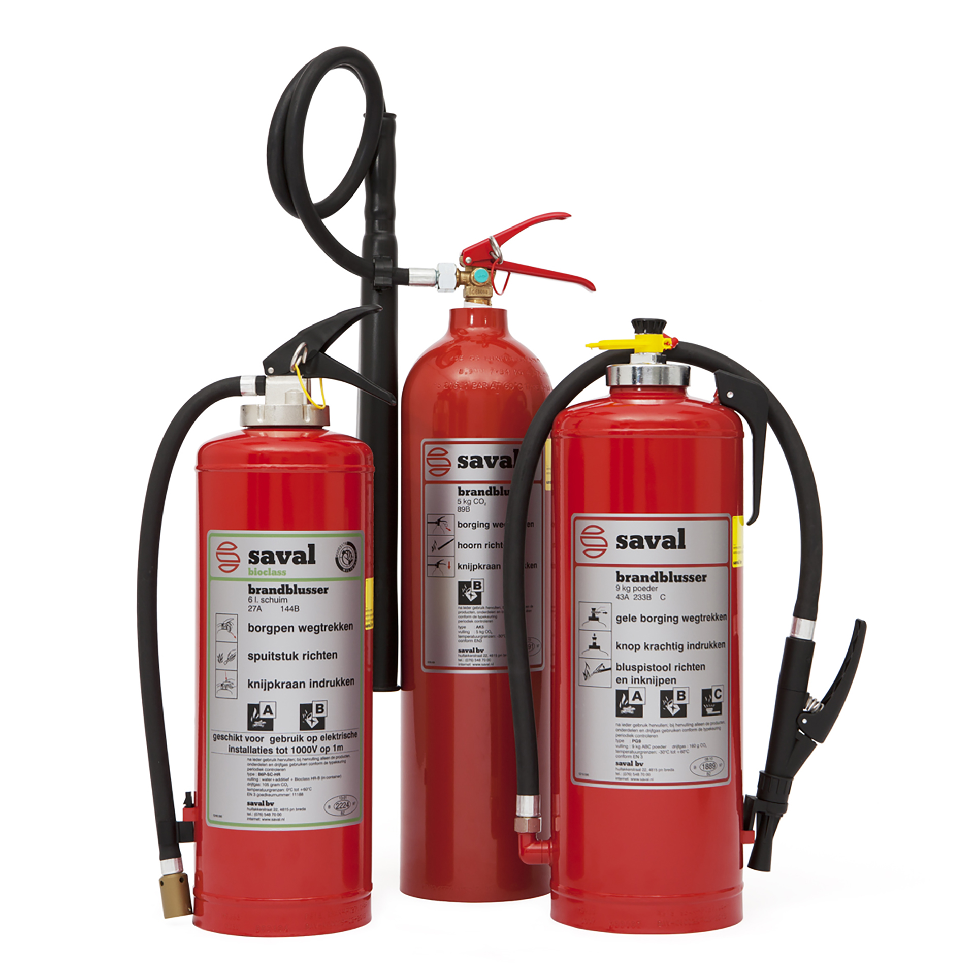 Brandblussers productgroep