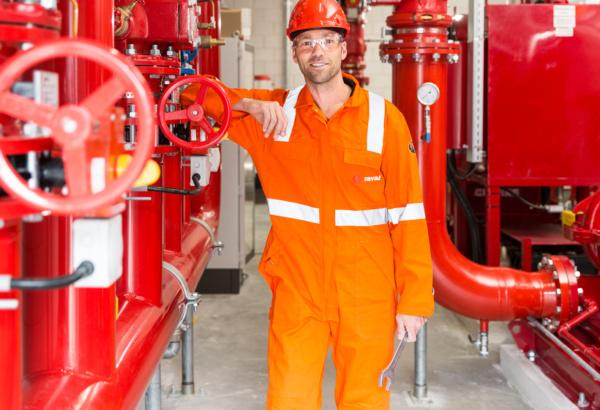 Servicetechnicus brandbeveiligingsinstallaties