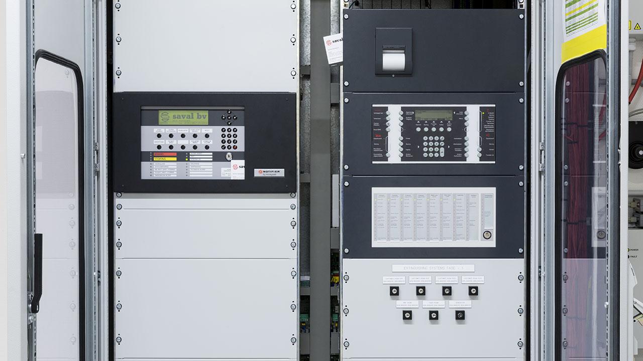 Een state-of-the-art datacenter met hoog gevoelige branddetectie en brandblusvoorzieningen 5