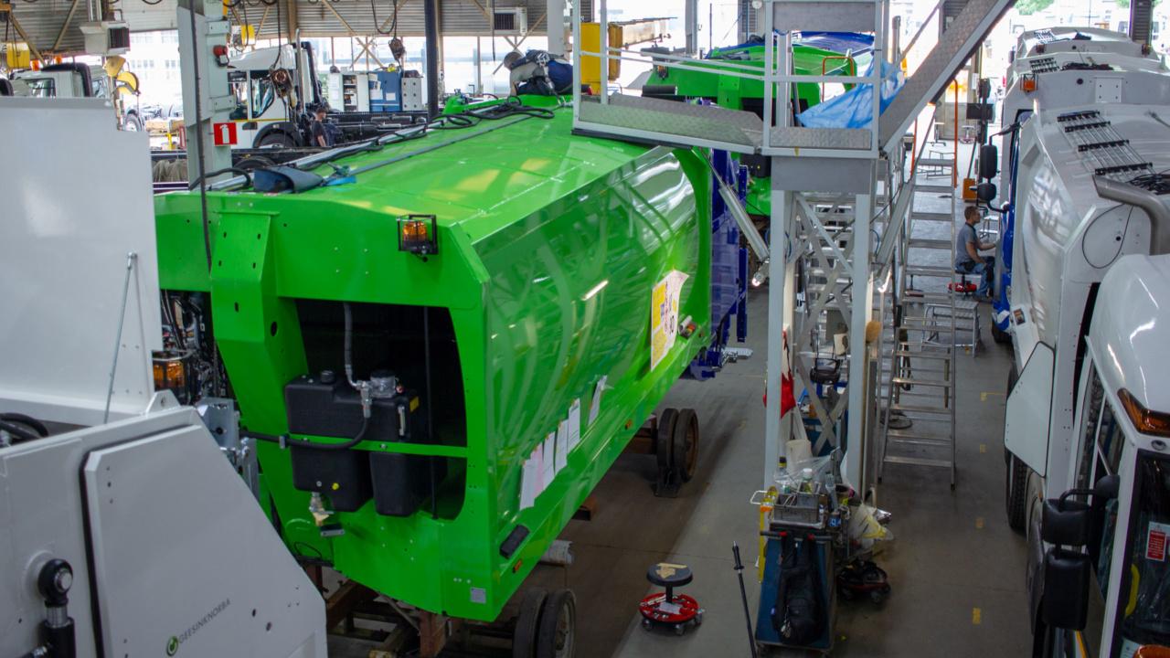 Automatische brandveiligheid producent voor de afvalverwerkende industrie 3