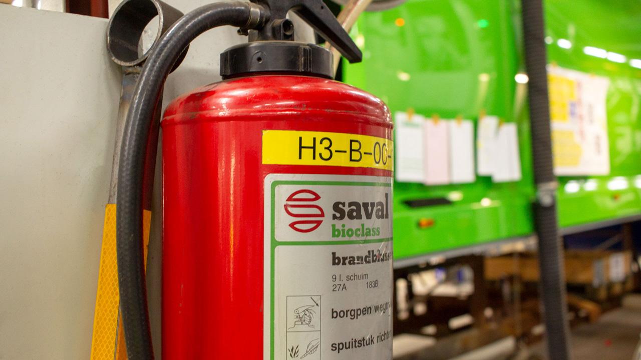 Brandveiligheid van leverancier afvalinzameling- en transport 9