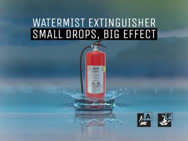 Introduction watermist extinguisher