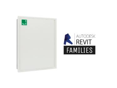 Revit families storage cabinet S-CAPEPLUS evacuation mattress 1