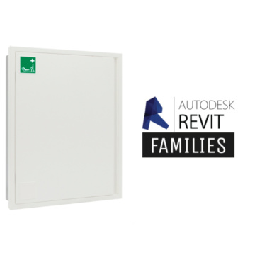 Revit families storage cabinet S-CAPEPLUS evacuation mattress 1