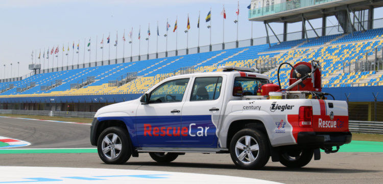 Safety Car gemaakt door Ziegler brandweertechniek ism Saval Brandbeveiliging