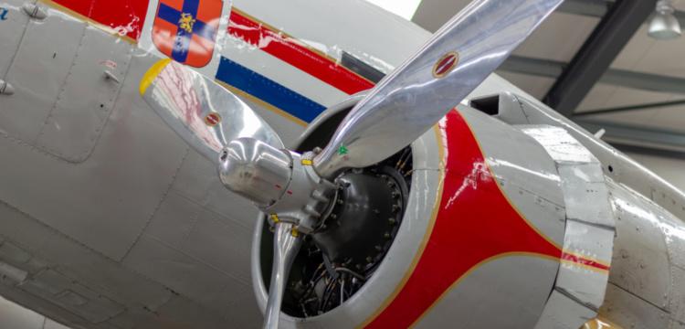 Propeller van de DC-3