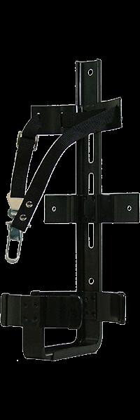 Fire extinguisher transport bracket
