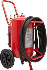 Wheeled Bioclass ABFFC foam extinguisher
