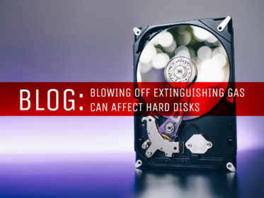 Blog: Blowing off extinguishing gas can affect hard disks