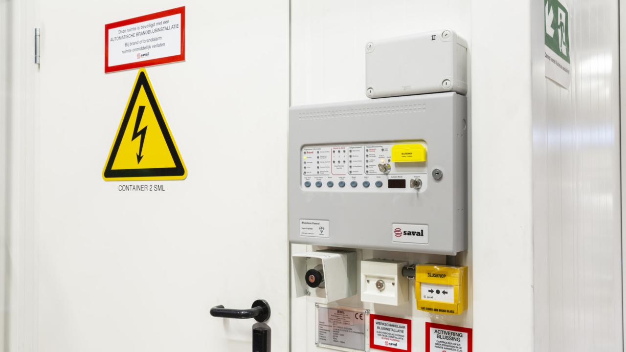 Brandveiligheid folieproducent gewaarborgd met inspectiecertificaat 8