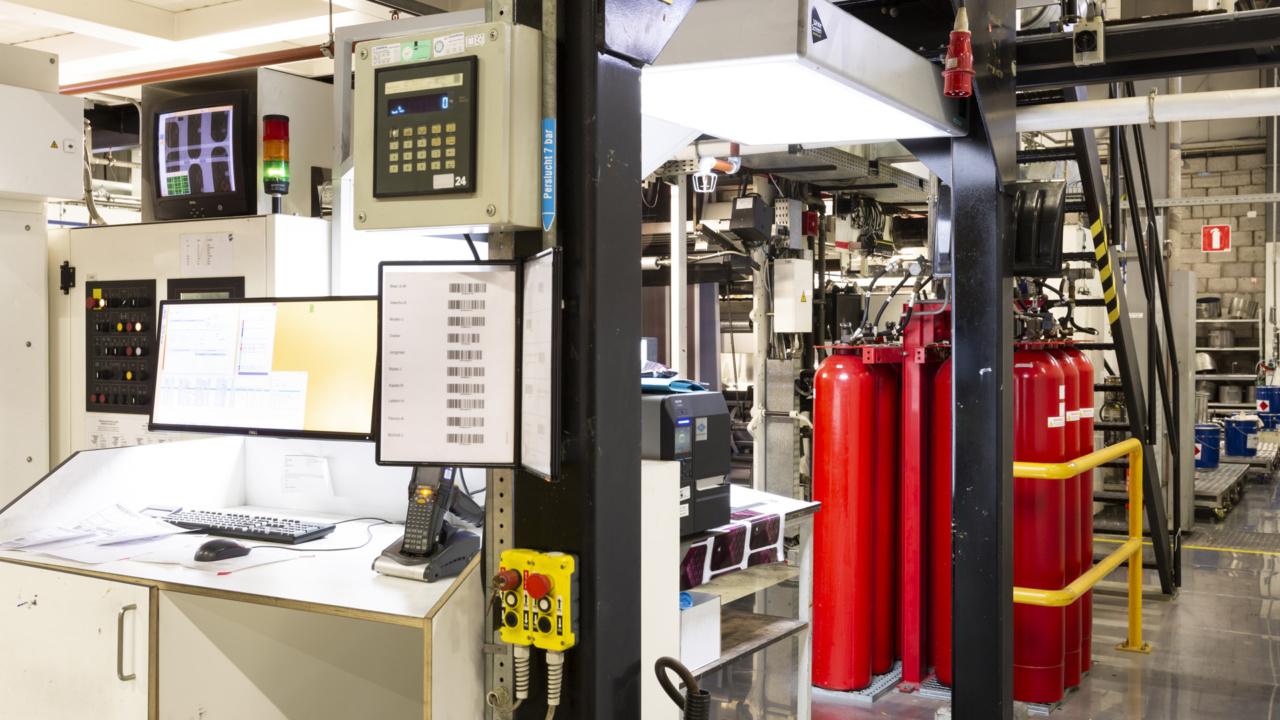 Brandveiligheid folieproducent gewaarborgd met inspectiecertificaat 9