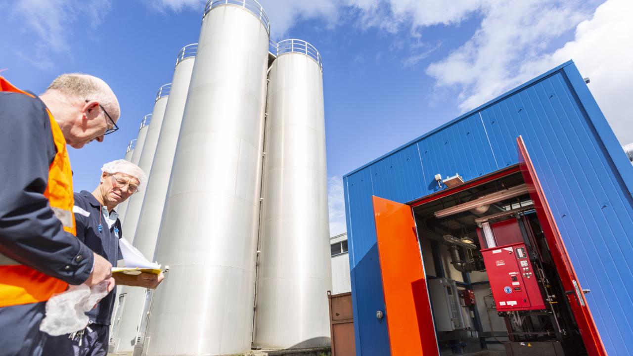 Brandveiligheid folieproducent gewaarborgd met inspectiecertificaat 13