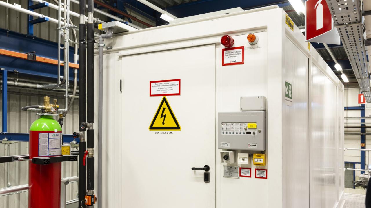 Brandveiligheid folieproducent gewaarborgd met inspectiecertificaat 16