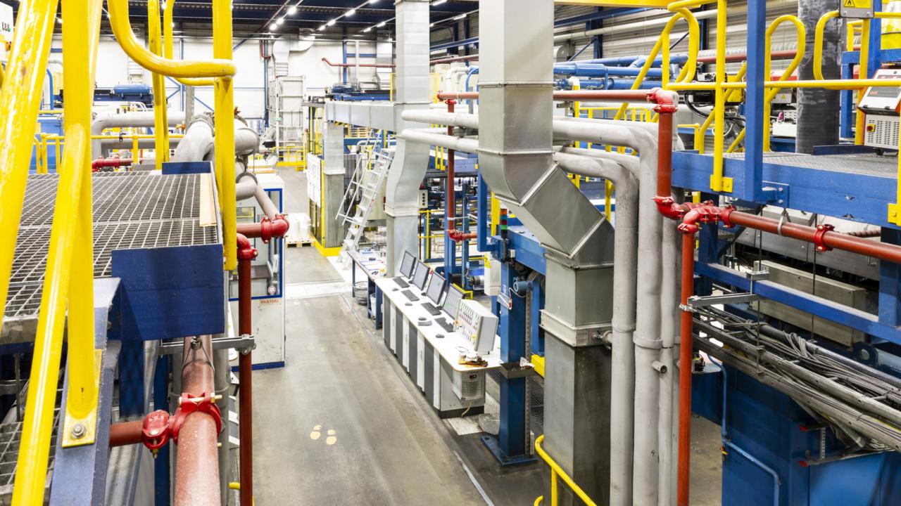 Brandveiligheid folieproducent gewaarborgd met inspectiecertificaat
