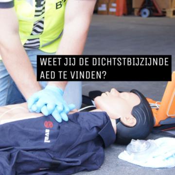 Nieuws: Weet jij de dichtstbijzijnde AED te vinden?