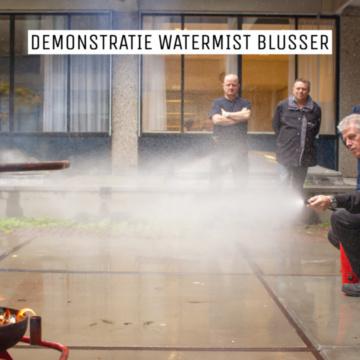 Demonstratie Watermist blusser