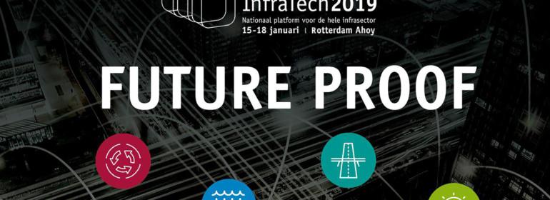 Wij zijn dit jaar aanwezig op InfraTech 2019