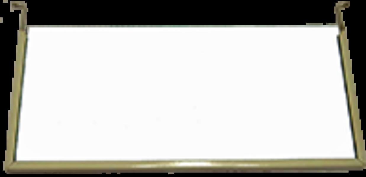 Pictogramplaat blanco met frame ESKALUX / ESKALED