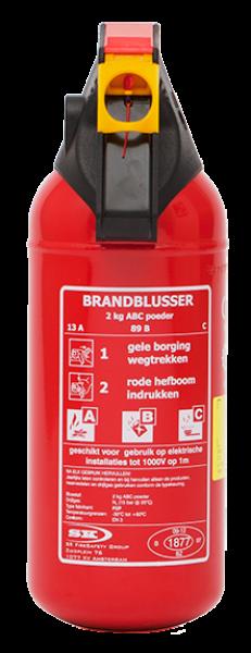 P2P compact powder extinguisher (ABC)