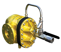 Turbinator watergedreven schuimmenger