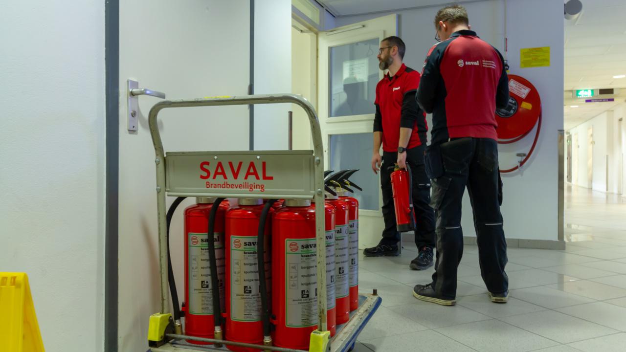 300 duurzame brandblussers voor Rijksuniversiteit Groningen 7
