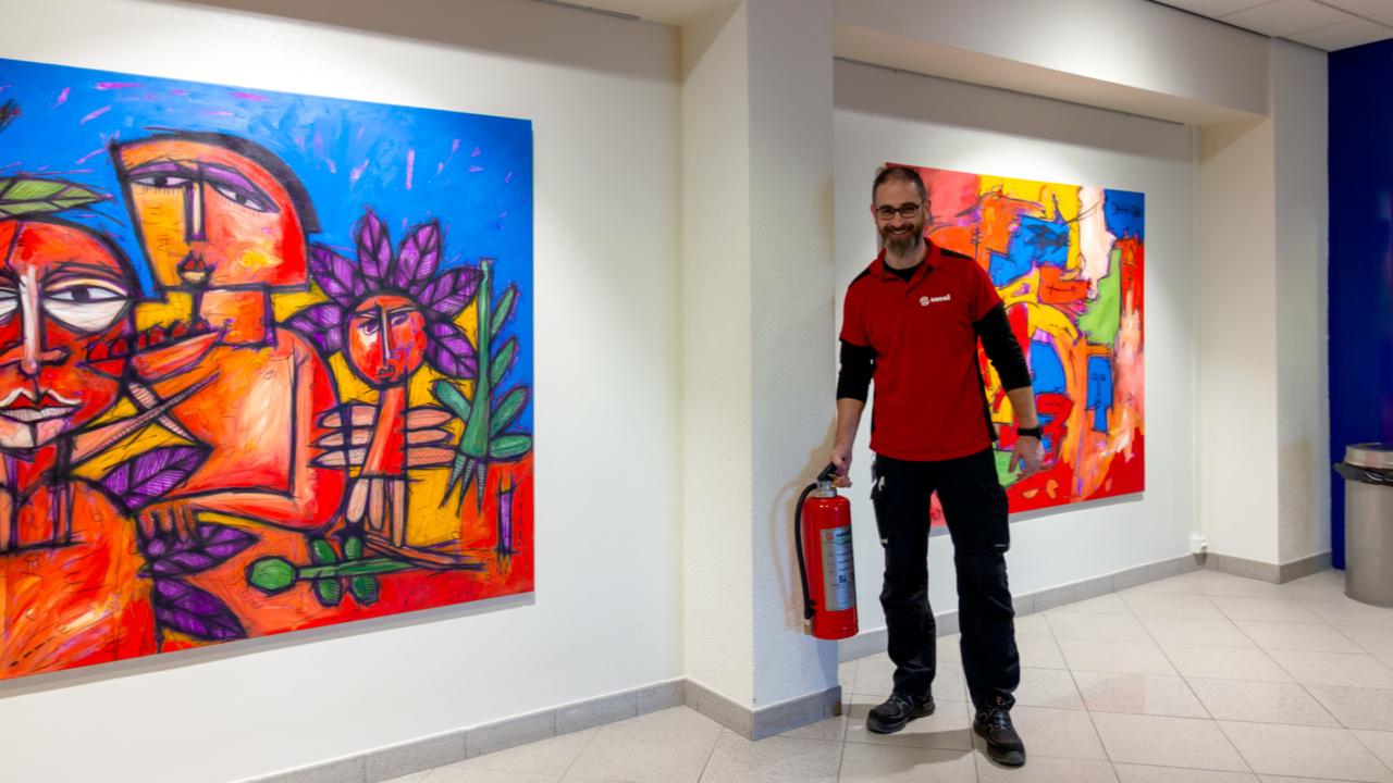 300 duurzame brandblussers voor Rijksuniversiteit Groningen 8