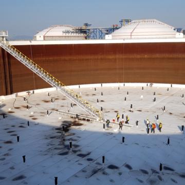 CFI rim seal systemen in Zuid-Korea