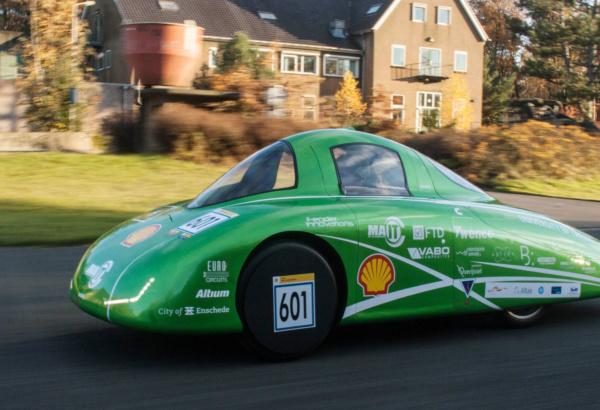 Aurora 1, waterstof auto van Green Team Twente