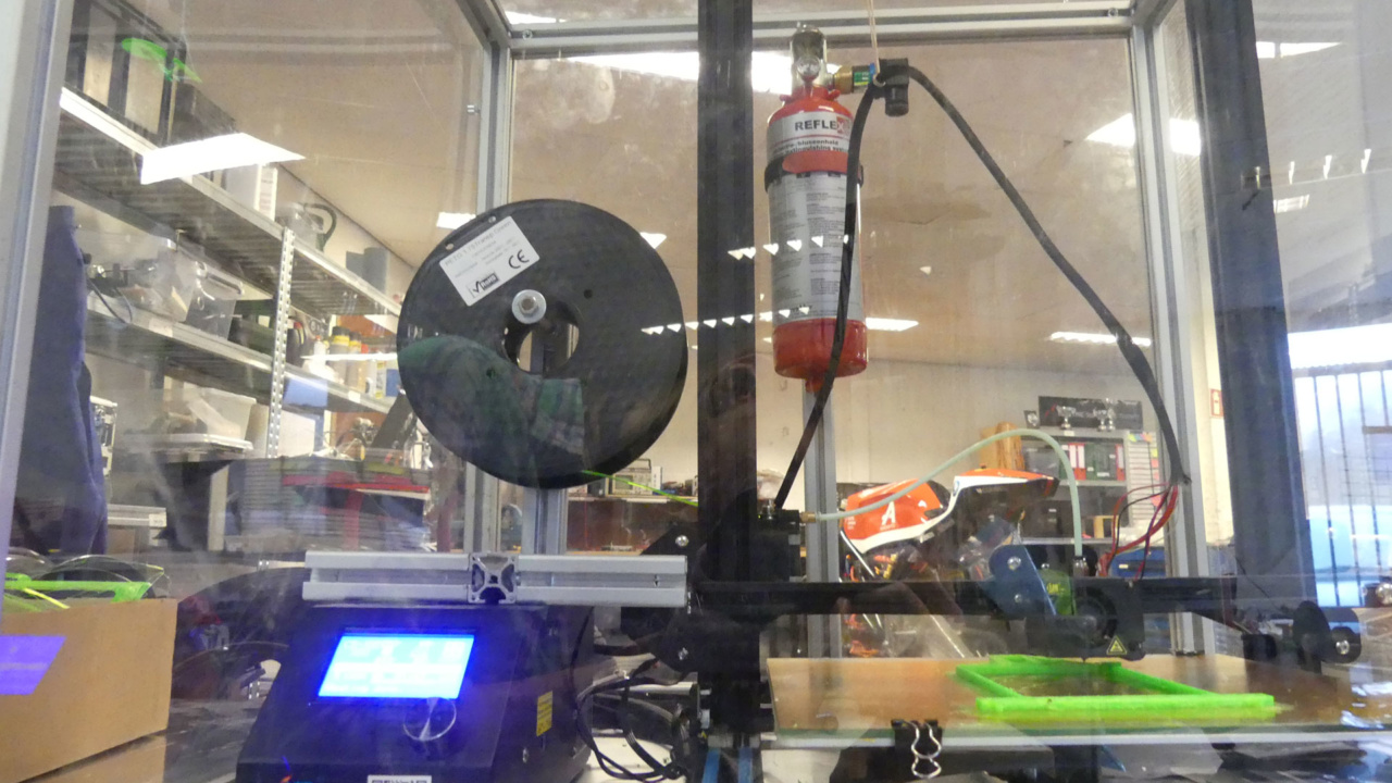 Reflex blussysteem voor 3D printer 6