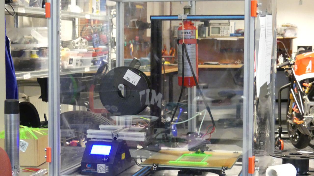 Reflex blussysteem voor 3D printer 7
