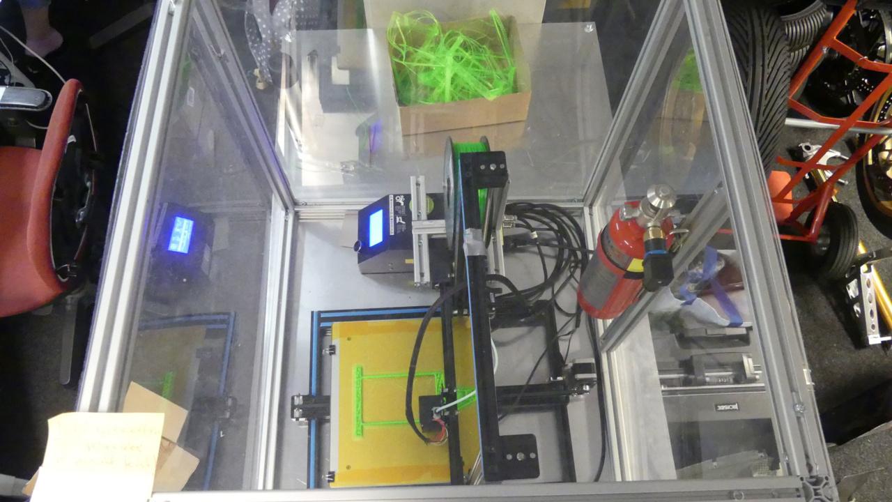 Reflex blussysteem voor 3D printer 8