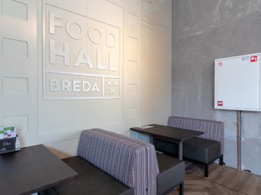 Food Hall Breda kiest voor brandbeveiliging van Saval