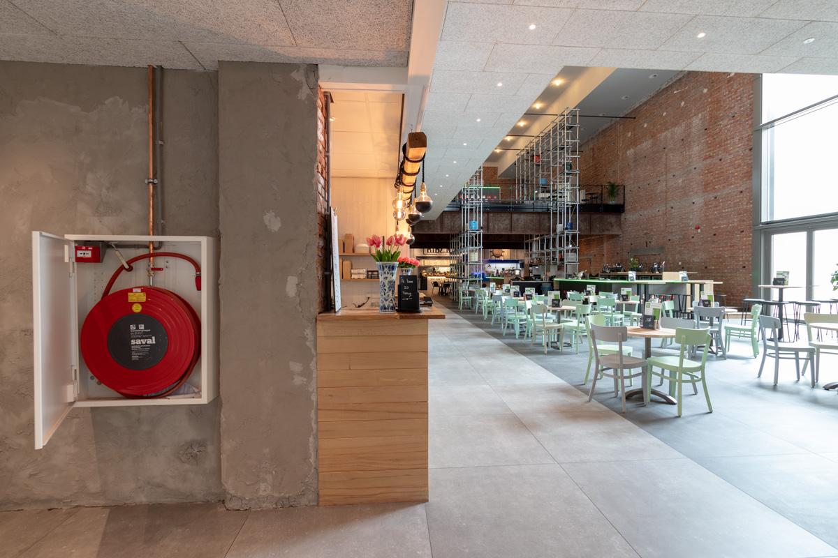 Foodhall Breda kiest voor brandbeveiliging van Saval 2