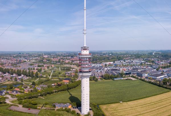 Hoogste toren van Nederland voorzien van nieuwste detectie- en blustechniek