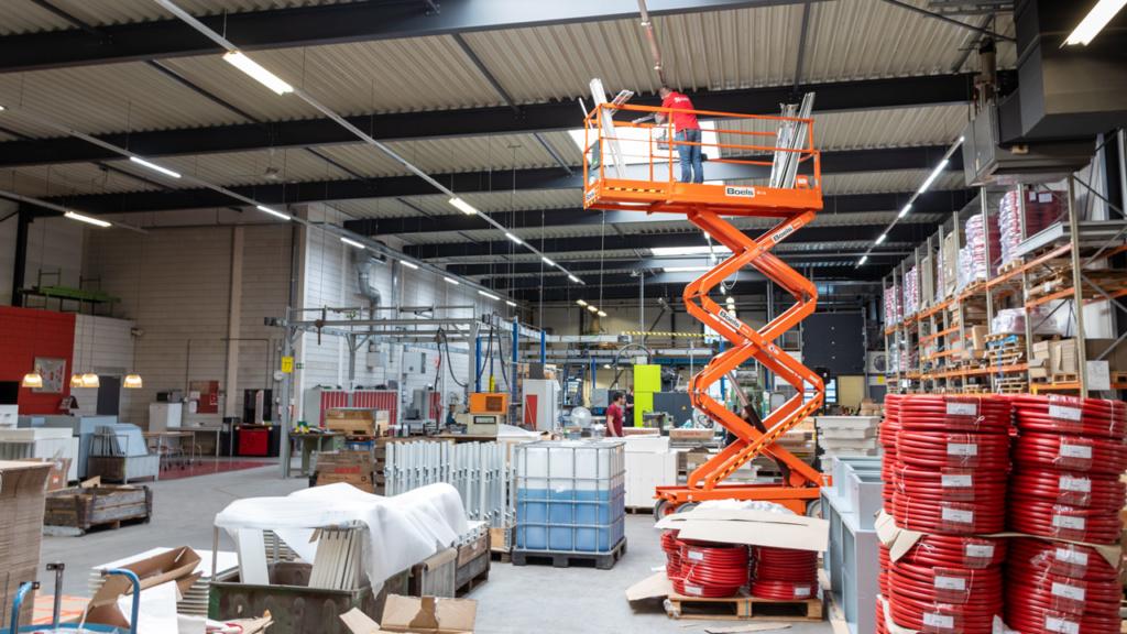 Saval fabriek LED-verlichting 4