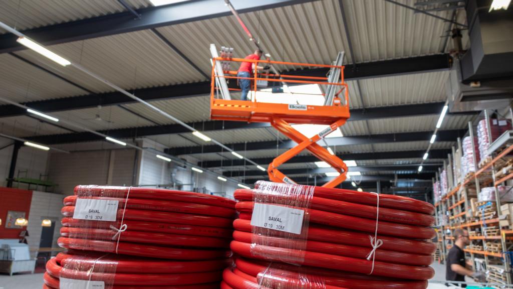 Saval fabriek LED-verlichting 5