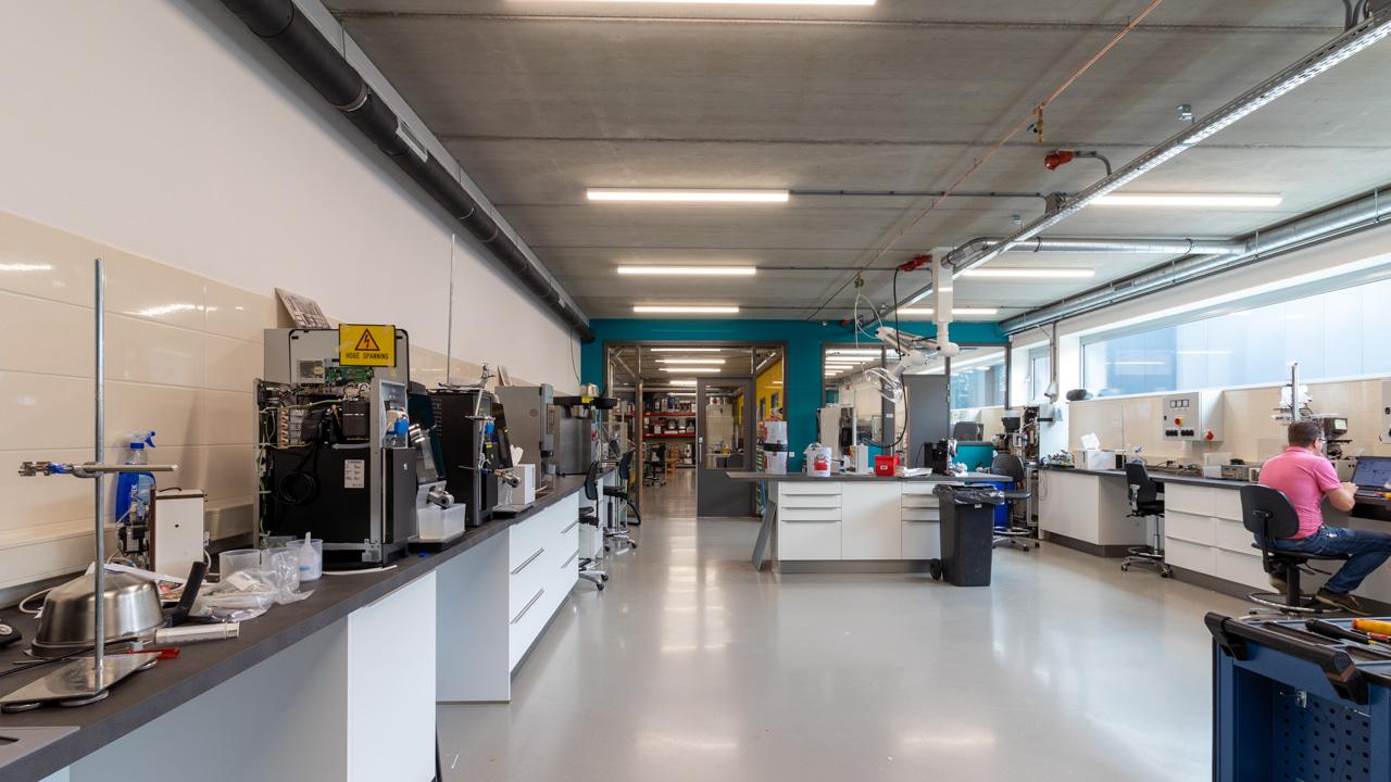 Compact blusschuimsysteem voor duurtest laboratorium 12