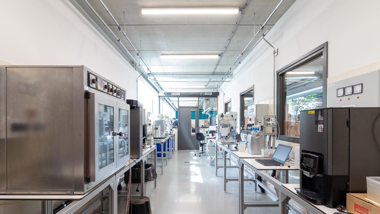 Compact blusschuimsysteem voor duurtest laboratorium 4