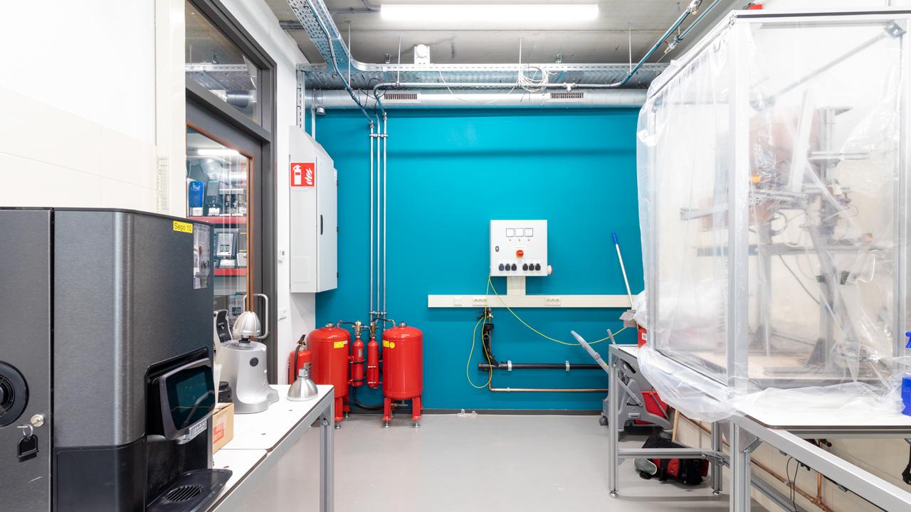 Compact blusschuimsysteem voor duurtest laboratorium 5
