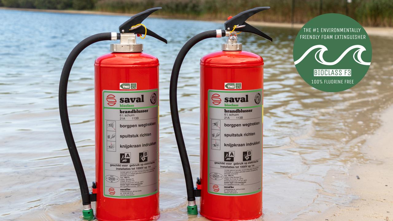 Bioclass F3 fluorine-free foam extinguisher 3