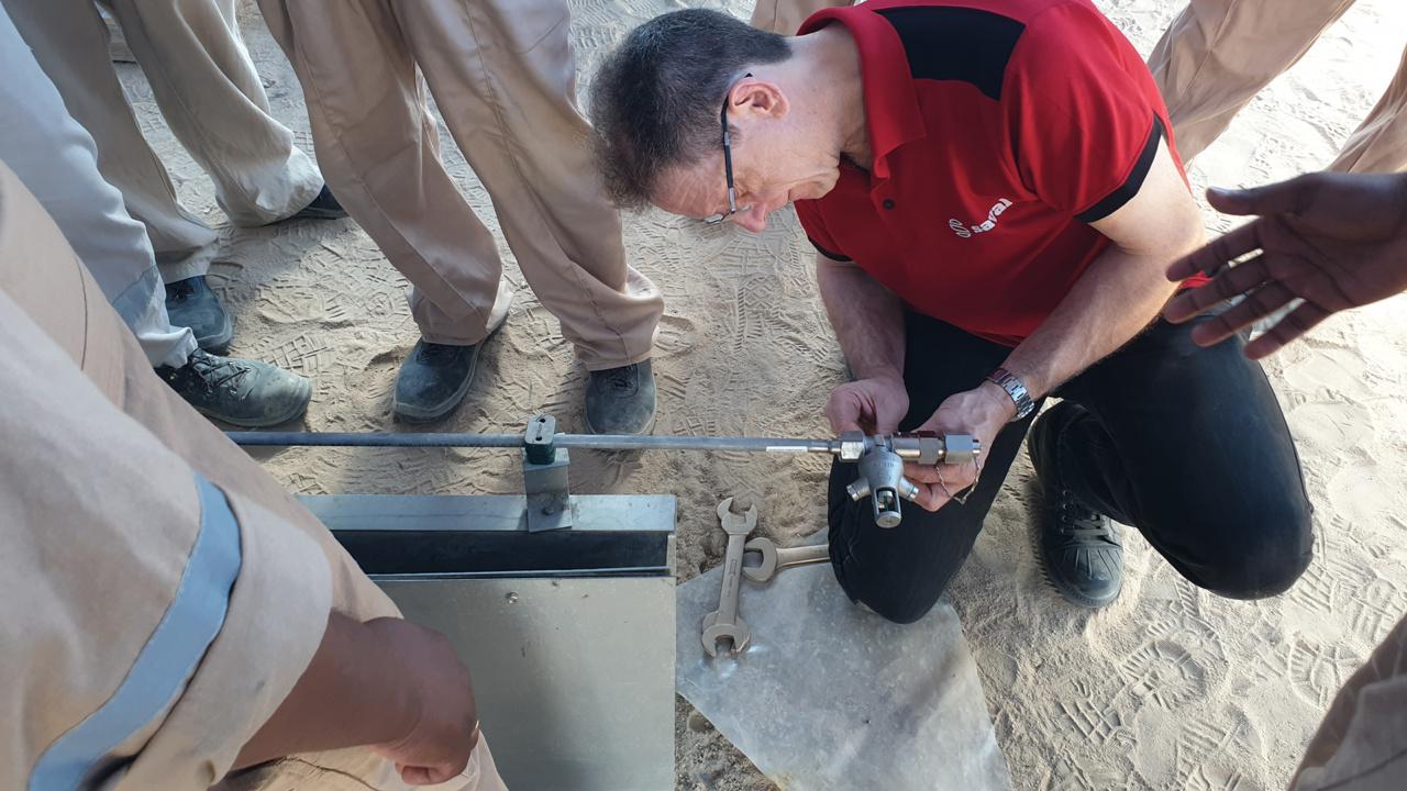 Training op maat in Koeweit: CFI RIM Seal Protection systemen installeren