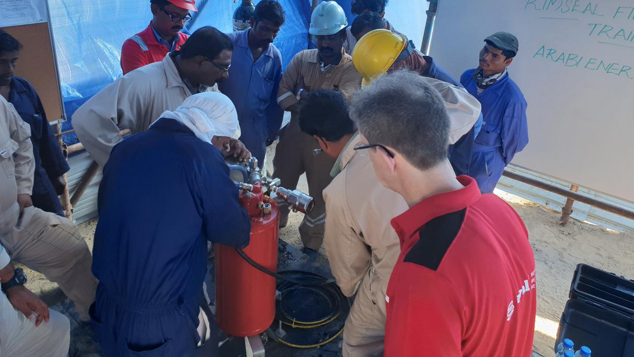 Training op maat in Koeweit: CFI RIM Seal Protection systemen installeren 1