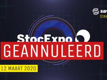 Deelname geannuleerd: StocExpo 2020