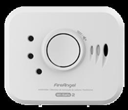 FireAngel W2-CO-10X-EU koppelbare koolmonoxide melder