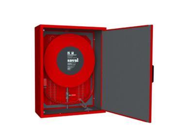 Geïsoleerde kasten met ThermaLint beschermen je brandslanghaspel in koude omstandigheden