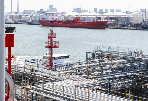 Expansion of Noord Natie Terminals with a full fire safety concept