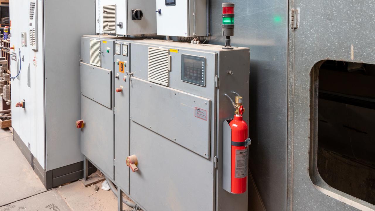 Automatische brandbeveiliging van schakelkasten bij houtverwerker 7