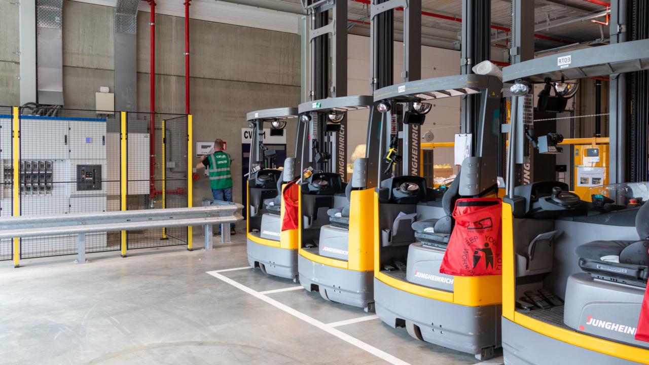 Ontruimingsplattegronden voor Ceva Logistics Heerlen 6